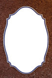 Ceramic frame Royalty Free Stock Images