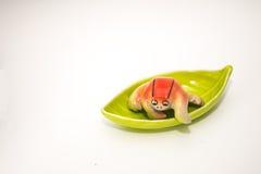 Ceramic frog Stock Image