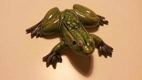 Ceramic frog Royalty Free Stock Photo