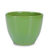 Ceramic garden pot Royalty Free Stock Photography