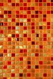 Ceramic glass colorful tiles mosaic composition Stock Photography