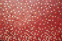 Ceramic glass colorful tiles mosaic composition Stock Photos