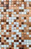 Ceramic glass colorful tiles Stock Images