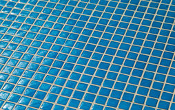 Ceramic glass tiles mosaic composition pattern backgrou Stock Photos