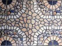 Ceramic good texture on the floor home royalty free stock image