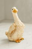 Ceramic goose figurine Royalty Free Stock Photography