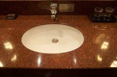 Ceramic hand wash basin Stock Photography
