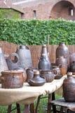 Ceramic handiwork Stock Image