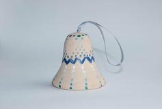Ceramic handmade bell Stock Images