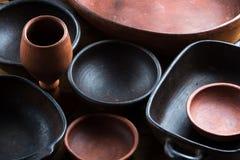 Ceramic handmade pottery, earthenware, ceramic ware, utensil Stock Photography