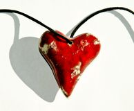 Ceramic heart Stock Image