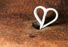 Ceramic heart shape Stock Images