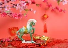 Ceramic horse souvenir Stock Image