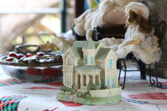 Ceramic House Model In Classic Style Stock Images