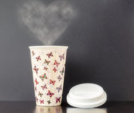 Ceramic Insulated Cup Stock Images
