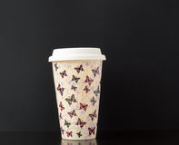 Ceramic Insulated Cup Royalty Free Stock Images