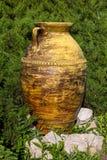 Ceramic jar Royalty Free Stock Images