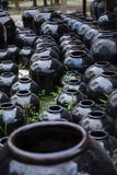 Ceramic jars Royalty Free Stock Photo