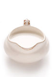 Ceramic jug with milk Royalty Free Stock Photography