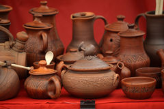 Ceramic jugs Royalty Free Stock Photos
