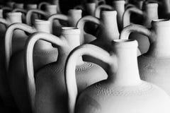 Ceramic jugs,C appadocia , Turkey Royalty Free Stock Photo
