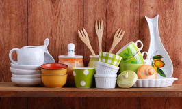 Ceramic kitchen tools Royalty Free Stock Image