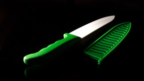 Ceramic knife isolated Royalty Free Stock Photography