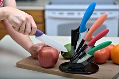 Free Ceramic Knives Stock Photo - 36999600