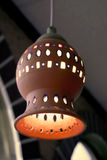 Ceramic light shade Stock Photos