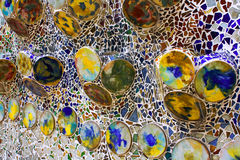 Ceramic mosaic Royalty Free Stock Image