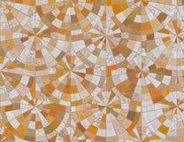 Ceramic mosaic Stock Photo