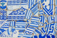 Ceramic mosaic background. Royalty Free Stock Photos