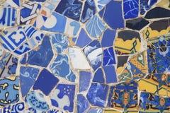 Ceramic mosaic background. Stock Images
