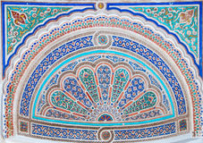 Ceramic mosaic in Marrakesh. Marocco. Moroccan style ceramic mosaic - Best of Marocco royalty free stock photos