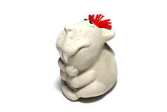 Ceramic mouse. Royalty Free Stock Photos