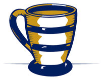 Ceramic mug Stock Images
