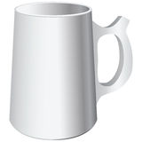 Ceramic mug Royalty Free Stock Image