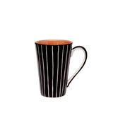 Ceramic mug isolated on white Stock Photos