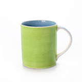 Ceramic mug isolated on white background Royalty Free Stock Photography