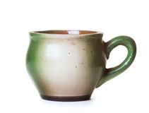 Ceramic mug Royalty Free Stock Photography