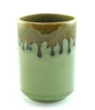 Ceramic mug  on a white Stock Photo