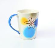 Ceramic mug on a white background Royalty Free Stock Image