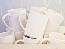 Ceramic mugs Royalty Free Stock Photography