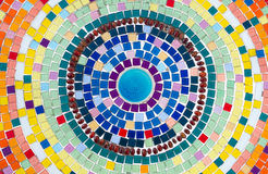 Ceramic multicolor tile Royalty Free Stock Image