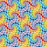 Mosaic seamless pattern. Ceramic multicolored mosaic seamless pattern Royalty Free Stock Image