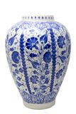 Ceramic vase. Turkey Kutahya çini vazo stock images