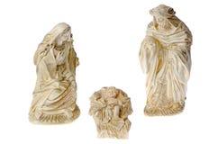 Ceramic nativity scene Royalty Free Stock Photos