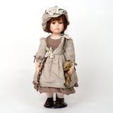 Ceramic old dolly Stock Image