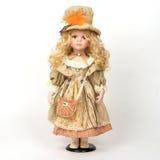 Ceramic old dolly Stock Photo