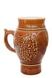 Ceramic ornate mug Royalty Free Stock Images